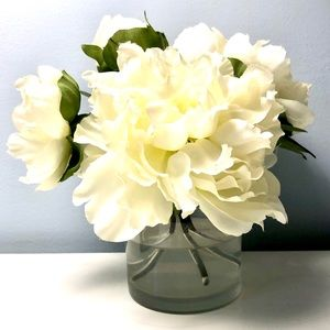 Pottery Barn Faux Peonies